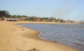 Encarnación: las playas no están habilitadas