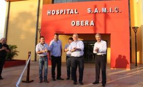 Nuevo capítulo de la eterna inauguración del hospital Samic de Oberá