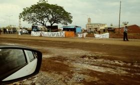 Losada se negó a hablar del reclamo contra el monopolio Zbikoski en Itaembé Guazú