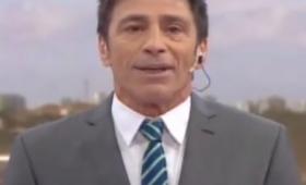 """Repetto debutó en el noticiero de Telefe: """"Van a estar bien informados"""""""