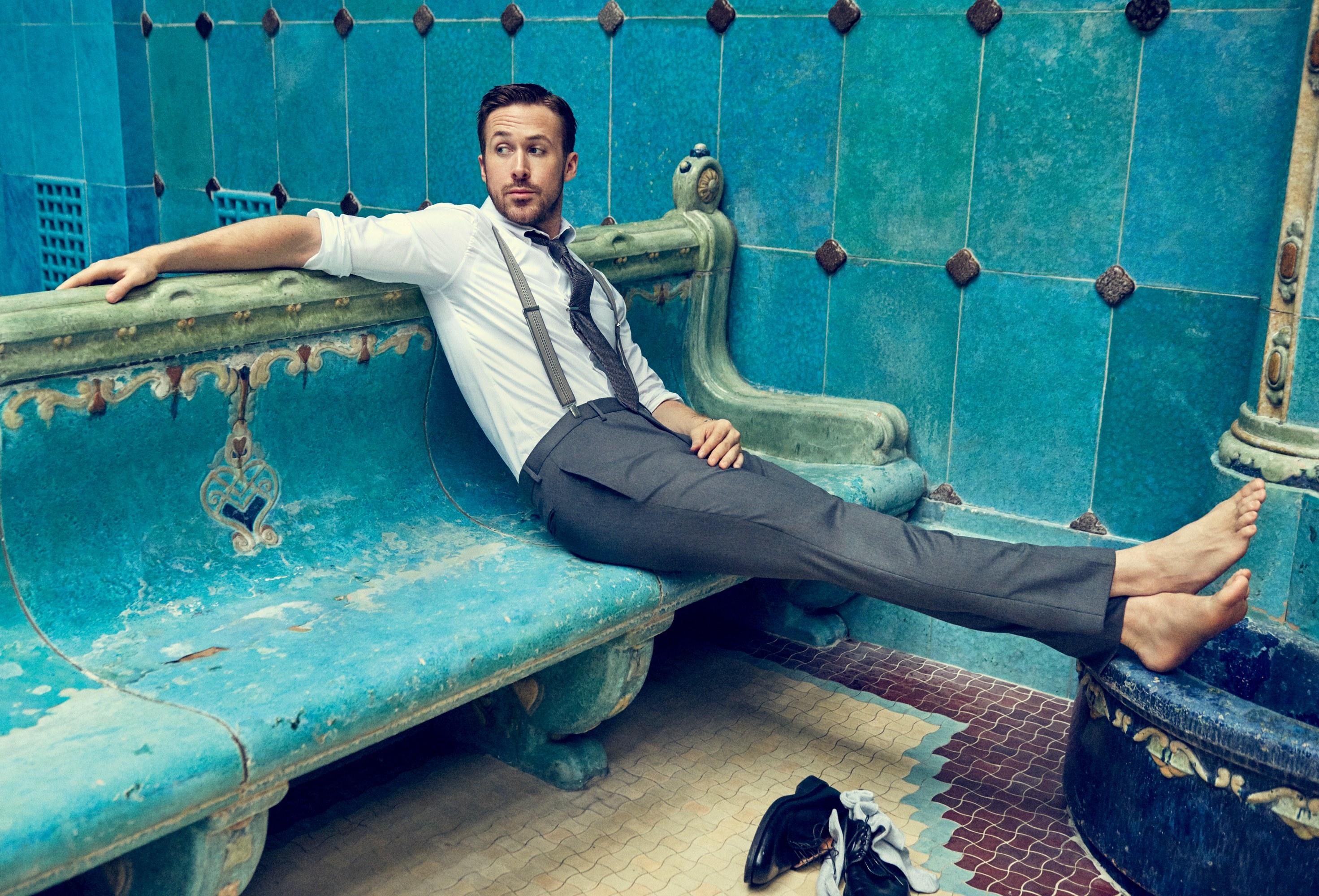 Harrison Ford le propinó un puñetazo a Ryan Gosling
