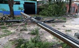 Virasoro también se vio afectada por el fuerte temporal