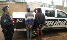Seis detenidos en la Zona Oeste