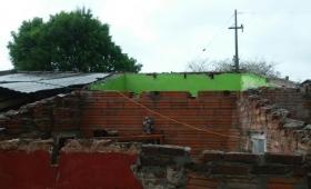 El temporal alcanzó también al Paraguay