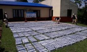 Incautaron 2200 cartones de cigarrillos en Puerto Maní
