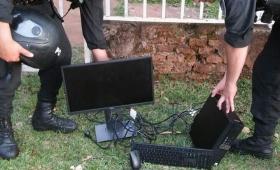 Cayó banda juvenil por robo en oficina pública