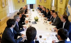 Un almuerzo para hablar de las reformas que se vienen