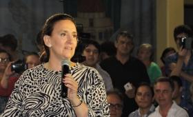 Michetti estuvo en Oberá apoyando a los candidatos de Cambiemos