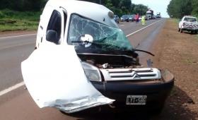 Triple choque en Eldorado: identificaron al fallecido
