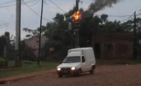 Explotó un transformador de Emsa y dejó sin luz un vecindario