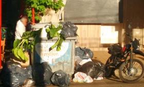 Sin recolección de basura hasta el lunes