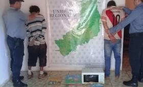 Ladrones presos tras robar en un jardín maternal