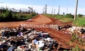 Preocupante basural clandestino en el sur de Posadas