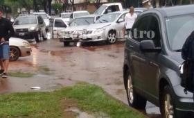 Violento choque en Urquiza y Zapiola