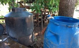 Sin agua y sin luz en el Barrio El Porvenir, tras el temporal