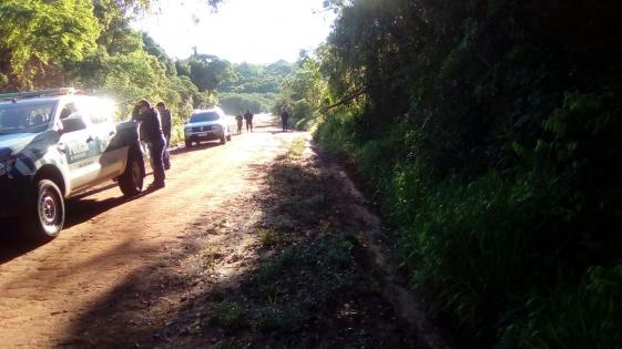 San Ignacio: incautaron panes de marihuana arrojados en Puerto Viejo