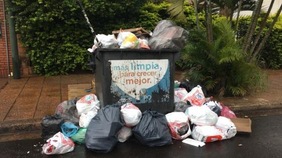 En año nuevo tampoco hay recolección de residuos