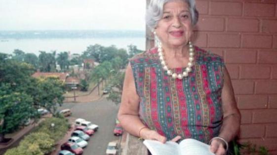Falleció la escritora Nayibe Chamas