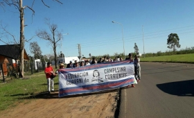Ituzaingó: pobladores cortaron ruta 12