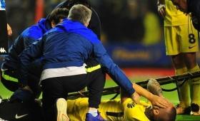 Benedetto se rompió los ligamentos cruzados