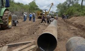Corrientes: el gasoducto llegó a Curuzú Cuatiá