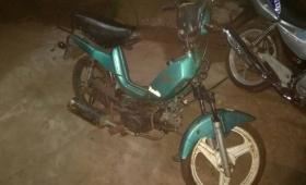 "Recuperaron moto robada vendida por ""monedas"""