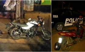 Operativo zona oeste, secuestraron dos motocicletas por infracción al tránsito