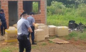 Contrabando de gorras por 300 mil pesos en Irigoyen