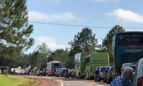Productores de Puerto Libertad cortaron la Ruta 12