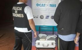Incautaron marihuana en el Alto Paraná