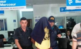 Prófugo por homicidio fue atrapado en Migraciones