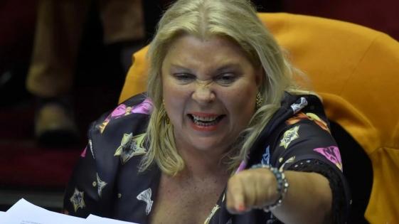 """""""Cristina va a terminar presa"""", afirmó Carrió"""