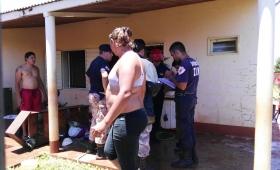 Dos heridos tras explosión de garrafa en Nueva Fátima