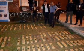 "Incautaron 190 kilos de droga del cartel ""Cruz del Sur"""
