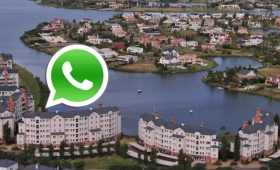 Mateadas en Nordelta y Playa Bristol, en respuesta al audio viral de WhatsApp