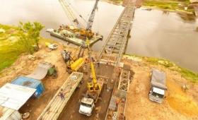Arroyo Guazú: El puente podría quedar habilitado antes del fin de semana