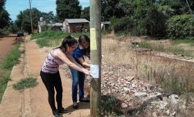 Labraron más de 500 actas en baldíos abandonados