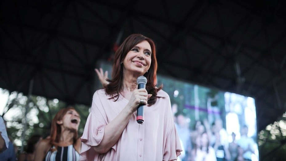 Cristina Kirchner debutó en el Senado:
