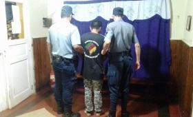 """Detienen a """"Dieguito"""" por el robo calificado a un adolescente en Guaraní"""