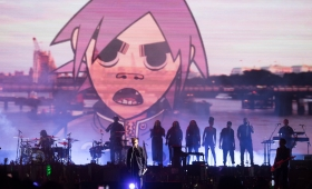Gorillaz anunció un show en marzo en Paraguay