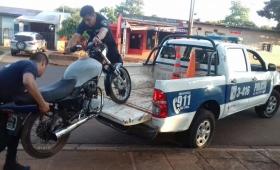 Motociclista ebrio hizo maniobras peligrosas y fue detenido