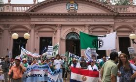 Paraguay se sumó a la marcha del 6D