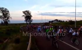 Partió la 37° peregrinación ciclística a Itatí