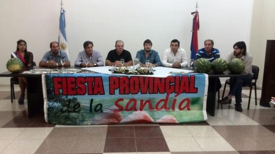Presentaron la octava edición de la Fiesta Provincial de la Sandía