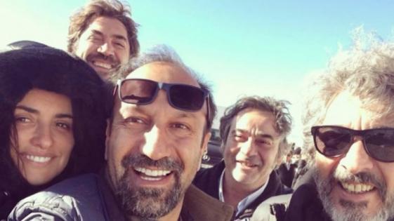 Darín terminó de rodar un filme con Penélope Cruz y Javier Bardem