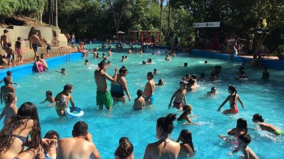Oberá: el Salto Berrondo recibió a 1400 visitantes el fin de semana