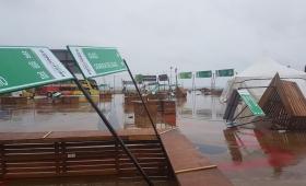 Fuerte tormenta causó daños en Posadas