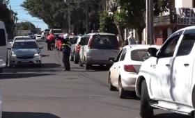 Paraguay: extensas filas para retornar a Posadas