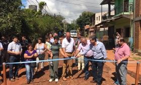 Dirigentes de la Renovación y Cambiemos desfilaron en el barrio Santa Rosa