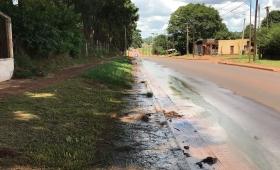Reclamo por inundaciones y cloacas rebalsadas en Villa Poujade